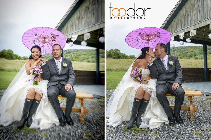 "Beautiful couple wedding at ""Les Jardins Interieurs du Lac"" Hotel, Bromont, Quebec"